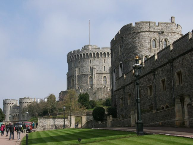 Windsor Castle The Lower Ward
