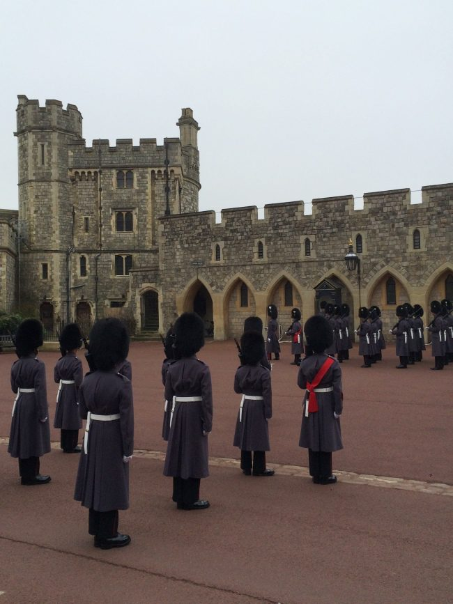 Windsor Castle Changing of the Guards