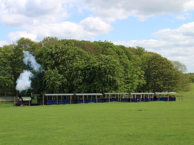 Steam Train at Whipsnade Zoo