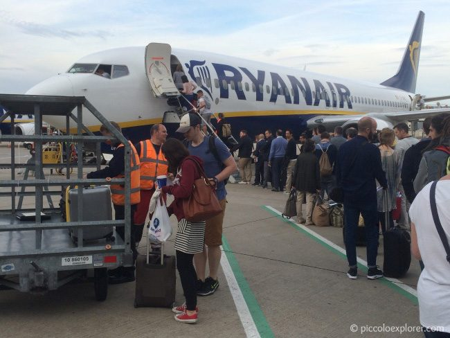 RyanAir Stansted Airport
