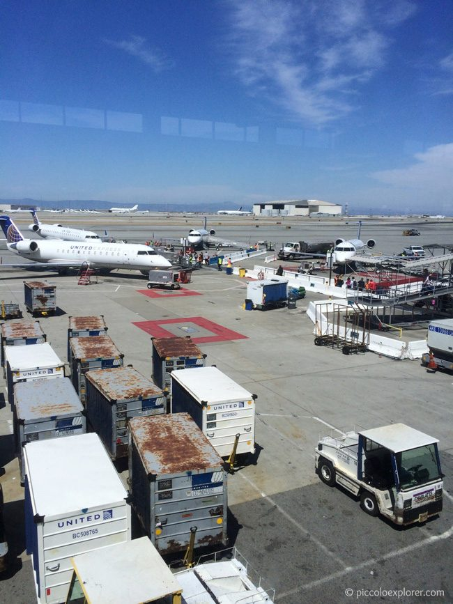 Flying United San Francisco Airport