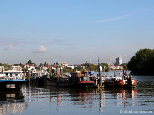 View of River Thames from Chiswick Pier
