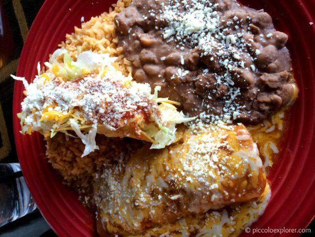 Taco and Enchilada at Las Olas Point Loma San Diego