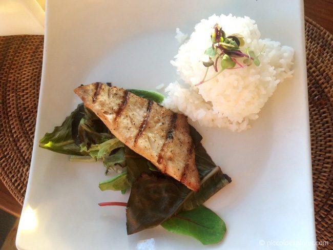 Kid's Menu Grilled Mahi-Mahi at Ocean House Waikiki
