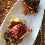 Grilled Teriyaki Ahi Steak at Ocean House Waikiki