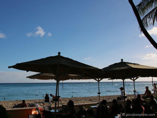 Moana Surfrider Beach Bar