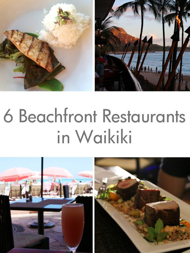 Beachfront Restaurants in Waikiki