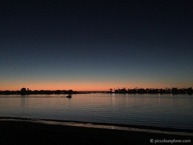 San Diego Sunset Mission Bay