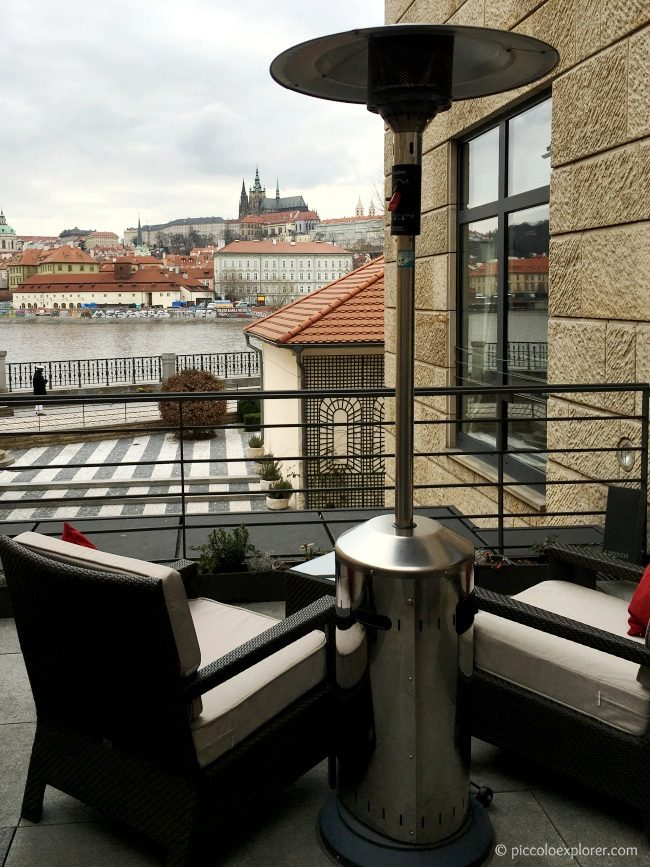 Prague Castle View from CottoCrudo, Four Seasons Prague