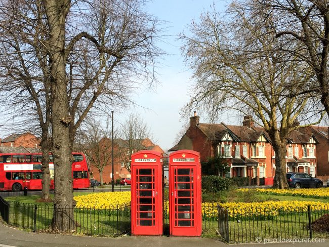 Springtime in Chiswick, London