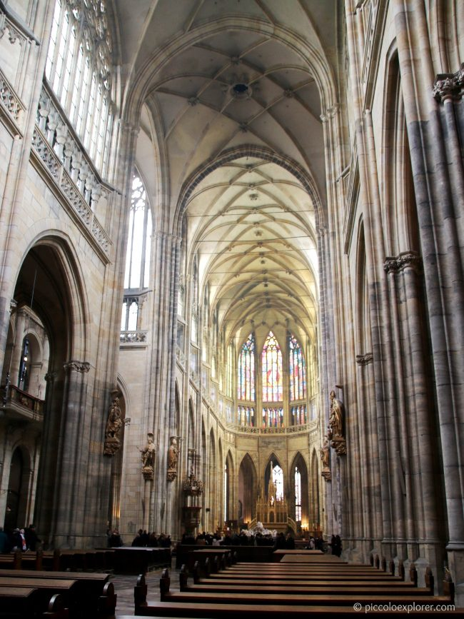 St Vitus's Cathedral, Prague