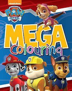 Mega Colouring Book - Paw Patrol