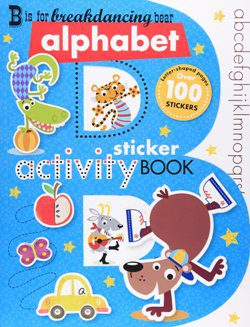 B is for Breakdancing Bear Activity Book