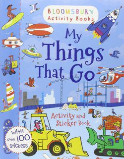 My Things That Go activity book