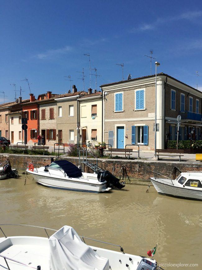 Port Canal, Fano, Italy