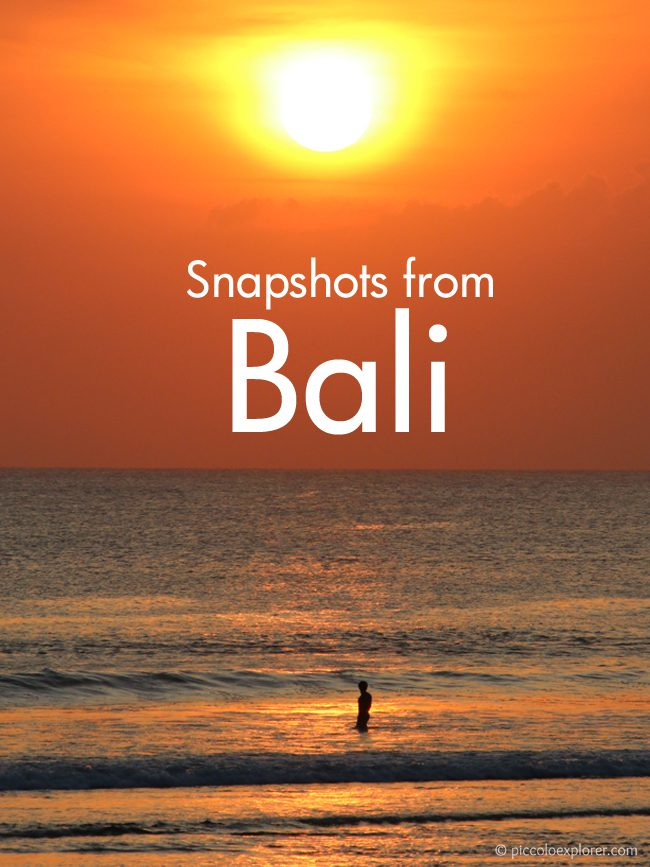 Pin It - Snapshots from Bali