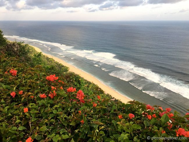 Ocean view from Tirtha Dining, Uluwatu, Bali