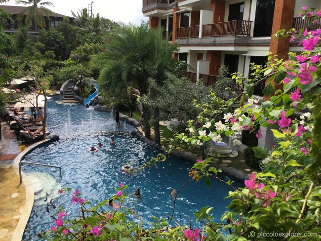 The Kid's Pool at Padma Resort Legian