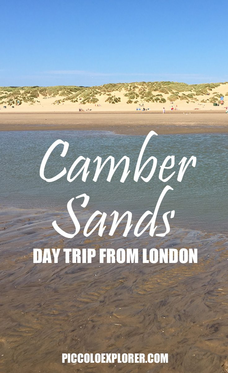 Day Trip from London - Camber Sands East Sussex