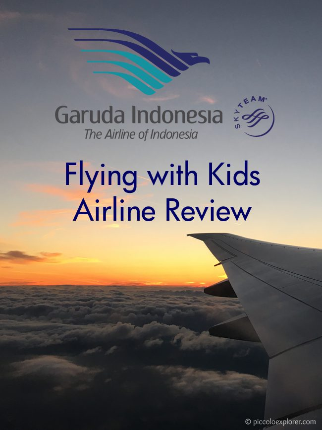 Airline Review: Flying Garuda Indonesia with Kids