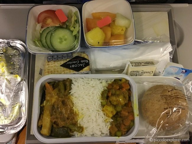 Dinner Meal - Garuda Indonesia