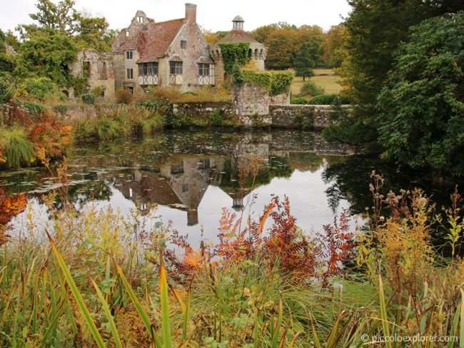 National Trust Scotney Castle Kent
