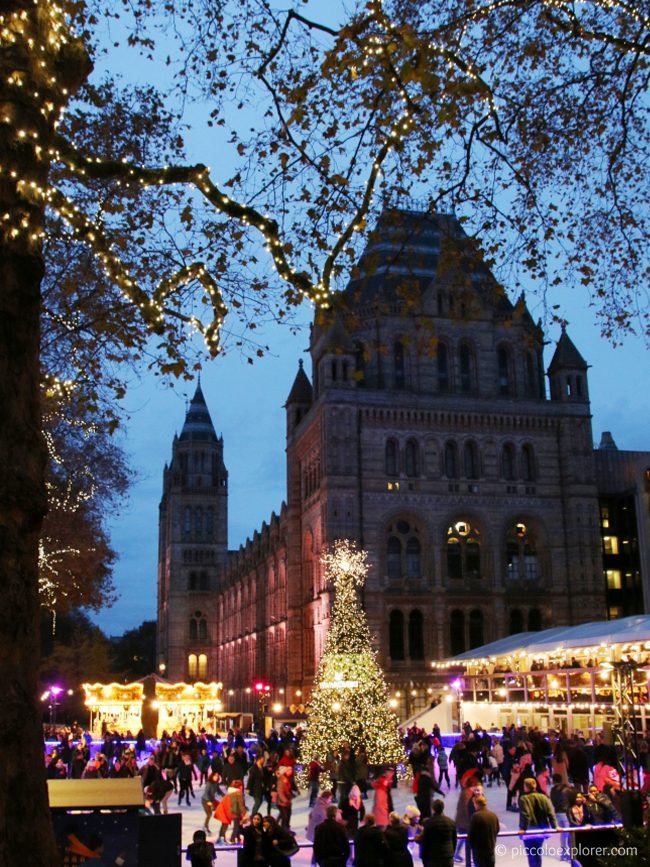 Natural History Museum Ice Rink