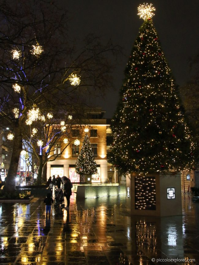 Duke of York Square Christmas Lights, Chelsea, London