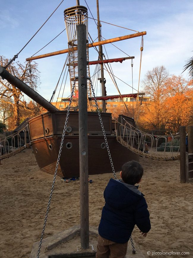 Diana Memorial Playground, Kensington, London