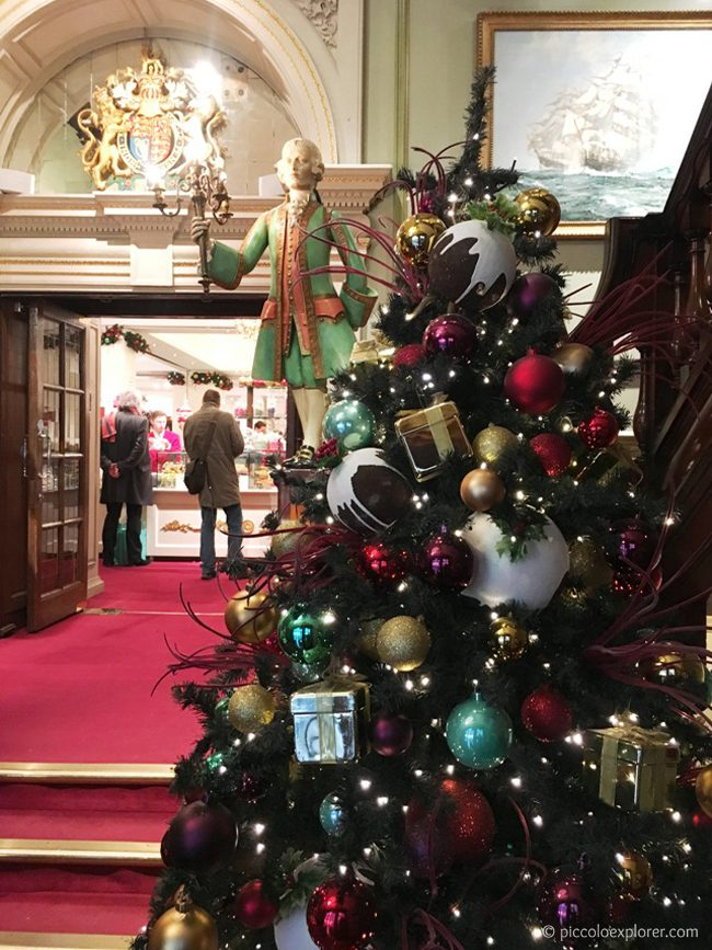 Fortnum & Mason at Christmas, London
