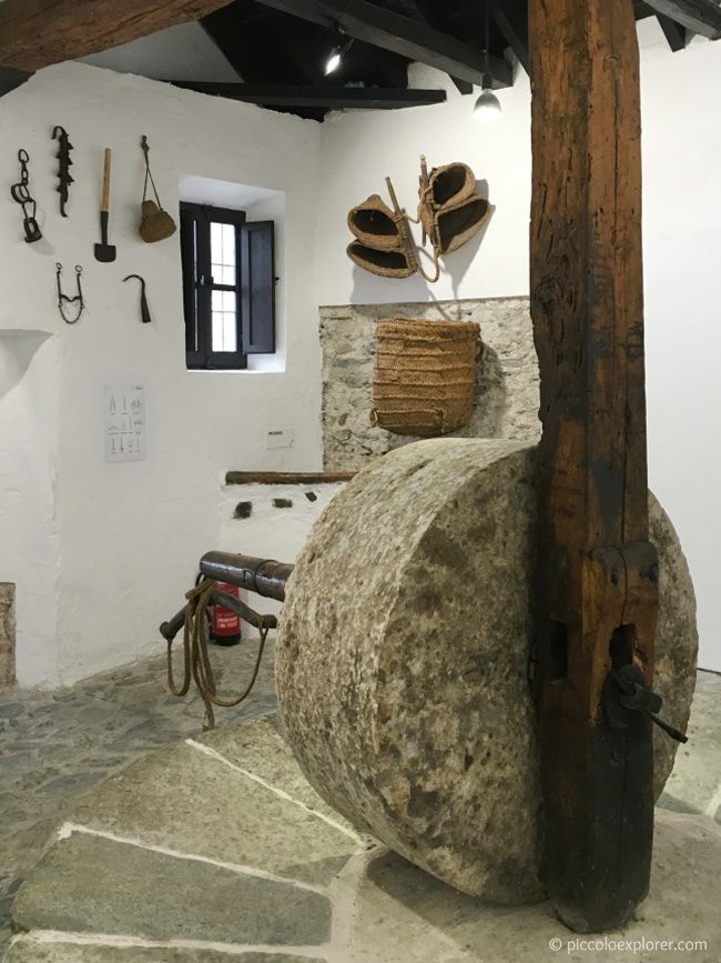 15th century oil mill at Museo Almazara de los Laerillas, Nigüelas