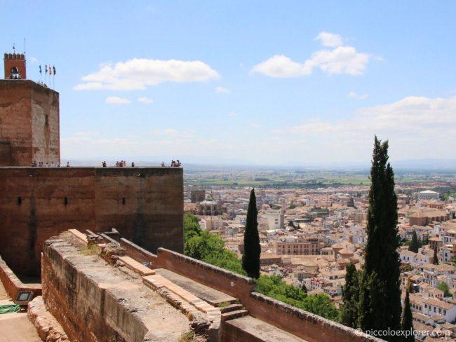 Alcazaba, the Alhambra, Granada