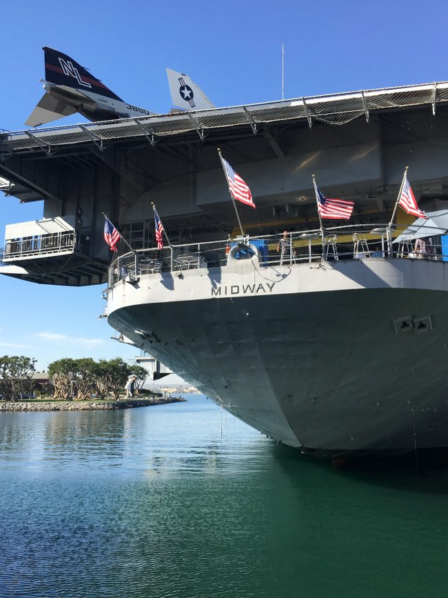 USS Midway Museum, San Diego, CA