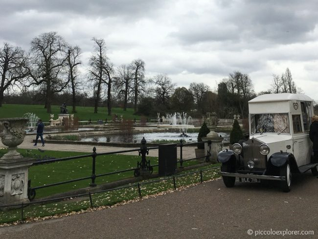 Italian Gardens, Kensington, London