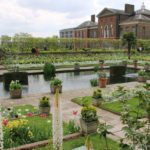 The White Garden at Kensington Palace