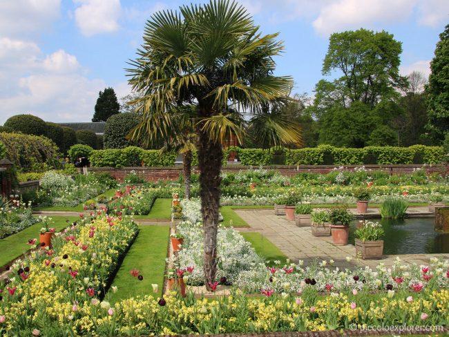 Kensington Palace White Garden London