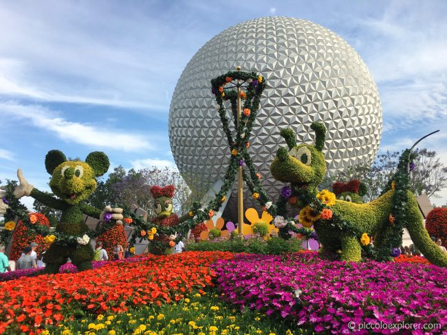 Epcot International Flowers and Gardens Festival 2017, Walt Disney World, Florida
