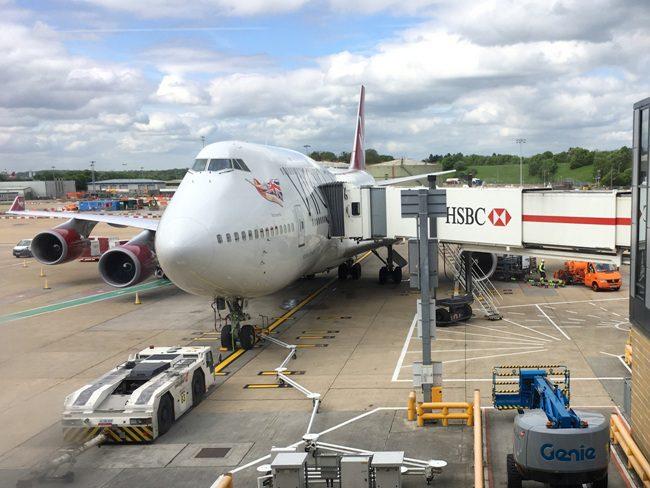 Flying Long-Haul Virgin Atlantic with Kids