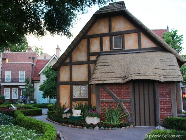 England area at Epcot World Showcase