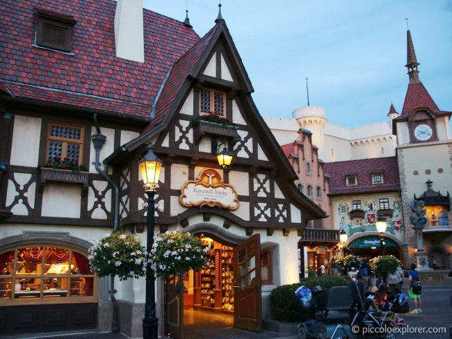 Germany area at Epcot World Showcase, Walt Disney World, Orlando