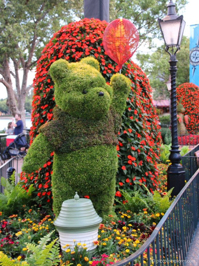Winnie the Pooh, Epcot International Flower & Garden Festival, Walt Disney World, Orlando