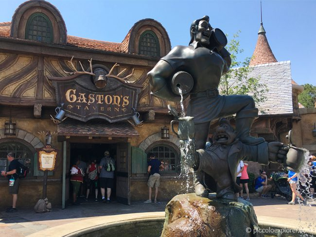 Gaston's Tavern, FantasyLand, Magic Kingdom, Walt Disney World
