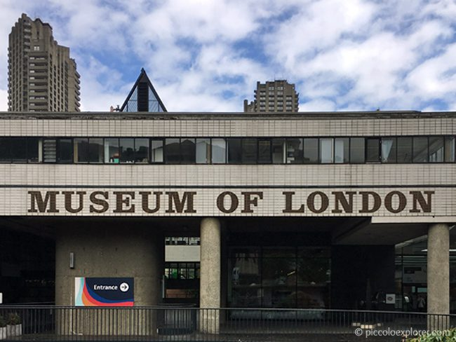 Museum of London, City of London