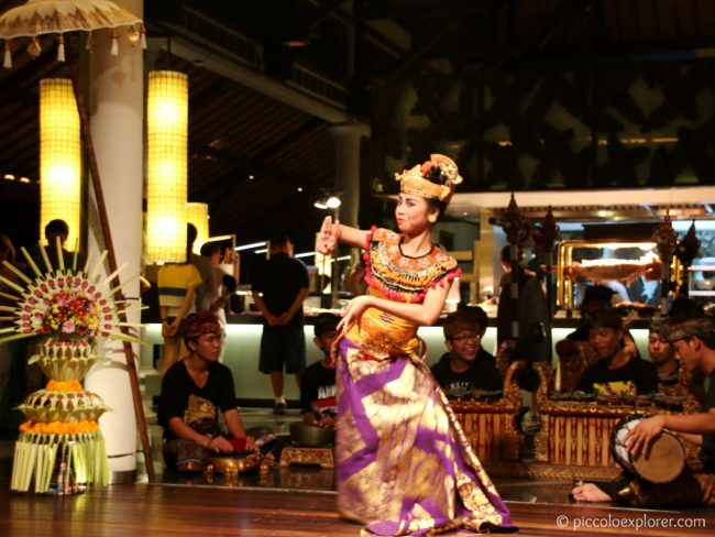 Balinese dance performance, Padma Resort Legian, Bali