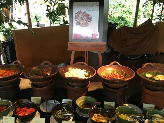 Breakfast Buffet, Padma Resort Legian, Bali