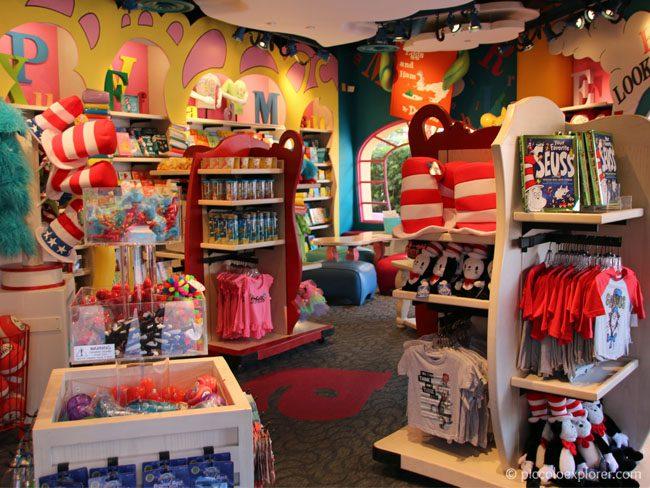 Dr. Seuss souvenirs at Seuss Landing, Universal's Islands of Adventure