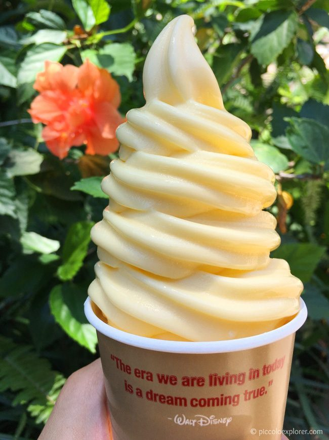 Dole Whip at Polynesian Village Resort, Walt Disney World